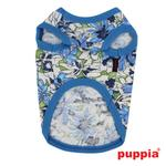 View Image 2 of Sultry Dog Shirt by Puppia - Blue