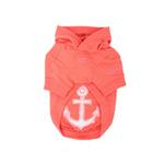 View Image 2 of Sunny Day Dog Hoodie by Pinkaholic - Orange