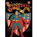 Superman Bedroom Decor - Vintage Issue #14 Comic Cover Giant Wall Decal