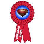 Superman Party Supplies - Award Ribbon