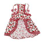 View Image 2 of Sweet Cherries Dog Sun Dress by Klippo