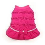 Sweet Winter Dog Coat by Dogo - Pink