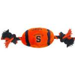 View Image 1 of Syracuse Plush Football Dog Toy