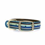 View Image 2 of Tahitian Sky Classic Stripe Dog Collar