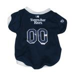 View Image 1 of Tampa Bay Rays Baseball Dog Jersey