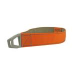 View Image 1 of Tazlab Safe-T-Stretch Dog Collar - Blaze Orange