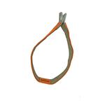 View Image 2 of Tazlab Safe-T-Stretch Dog Collar - Blaze Orange