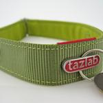 View Image 3 of Tazlab Safe-T-Stretch Dog Collar - Gunks Green