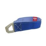View Image 1 of Tazlab Safe-T-Stretch Dog Collar - New River Blue