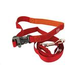 View Image 1 of Tazlab Slide-Tech Dog Leash - Red Rocks Red