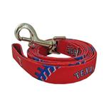 View Image 1 of Texas Rangers Baseball Printed Dog Leash