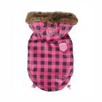 View Image 1 of TGIF Hooded Winter Vest by Puppia - Pink