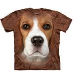 View Image 1 of The Mountain Human T-Shirt - Beagle Face