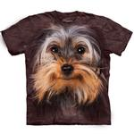 View Image 1 of The Mountain Human T-Shirt - Yorkshire Terrier Face