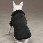 View Image 2 of Thermal Lined Dog Jacket - Black