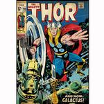 Thor Bedroom Decor - Vintage Issue #160 Comic Cover Giant Wall Decal