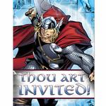 Thor Party Supplies - Postcard Invitations