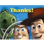 Toy Story Party Supplies - Postcard Thank You Notes