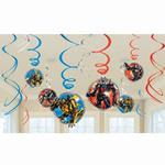 Transformers Party Supplies - Swirl Decorations