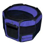 View Image 1 of Travel Lite Soft-Sided Pet Pen - Lavender