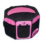 View Image 1 of Travel Lite Soft-Sided Pet Pen - Pink