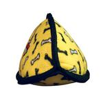 View Image 2 of Tuffy Dog Toys - Jr Odd Ball Yellow