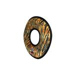 View Image 2 of Tuffy Dog Toys - Mega Ring Tiger Print