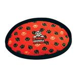 View Image 1 of Tuffy Dog Toys - Ultimate Odd Ball Red Paws