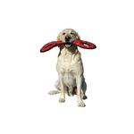 View Image 2 of Tuffy Dog Toys - Ultimate Tug-O-War Red Paw Print