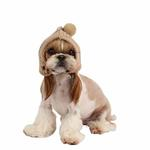View Image 1 of Twilight Dog Hat by Pinkaholic - Beige