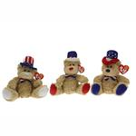 Ty Beanie Babies - Independence the Bear