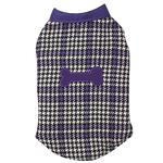 View Image 1 of Ultra Violet Reversible Houndstooth Dog Vest