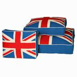 View Image 1 of Union Jack Dog Bed