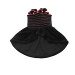 View Image 2 of Uptown Girl Dog Dress - Black