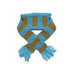 View Image 1 of Urban Stripe Dog Scarf by Dogo - Blue