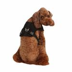 View Image 1 of Vera Snugfit Dog Harness by Pinkaholic - Black