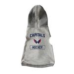 Washington Capitals Crewneck Dog Hoodie - Gray