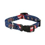 View Image 1 of Washington Nationals Baseball Printed Dog Collar