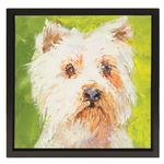View Image 1 of Westie Oil Painting