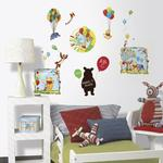 Winnie the Pooh Bedroom Decor - Up Up & Away Wall Decorating Kit