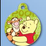 View Image 1 of Winnie the Pooh QR Code Pet ID Tag