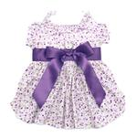 View Image 1 of Wisteria Floral Dog Dress by Doggie Design