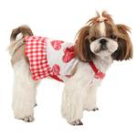 View Image 1 of Witty Dog Dress by Puppia - Red