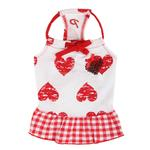 View Image 3 of Witty Dog Dress by Puppia - Red