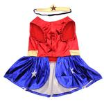 View Image 2 of Wonder Woman Dog Halloween Costume