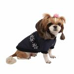 View Image 3 of Wonderland Dog Coat by Puppia - Navy