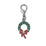 View Image 1 of Wreath Holiday Collar Charm
