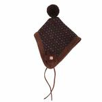 View Image 2 of Yuppie Dog Hat by Puppia - Brown