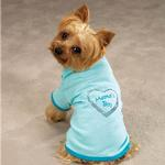 View Image 1 of Zack & Zoey Apple of My Eye Dog Tee - Mama's Boy
