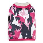 View Image 1 of Camo Tough Barn Dog Coat - Pink